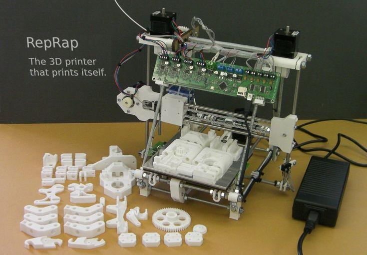 3D printer. (Likely RepRap)