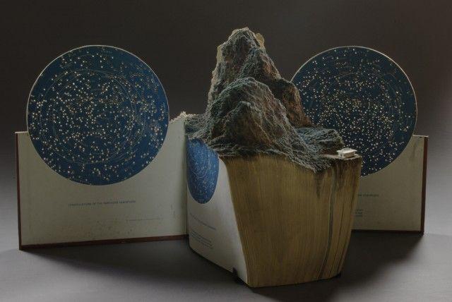 New Carved Book Landscapes by Guy Laramee: Books, Book Art, Book Sculpture, Bookart, Guylaramee, Landscape, Guys