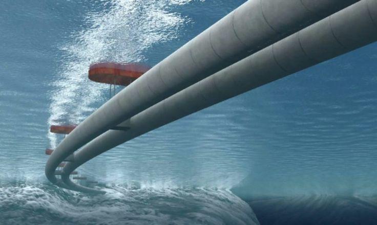 Ponte subaquática noruega