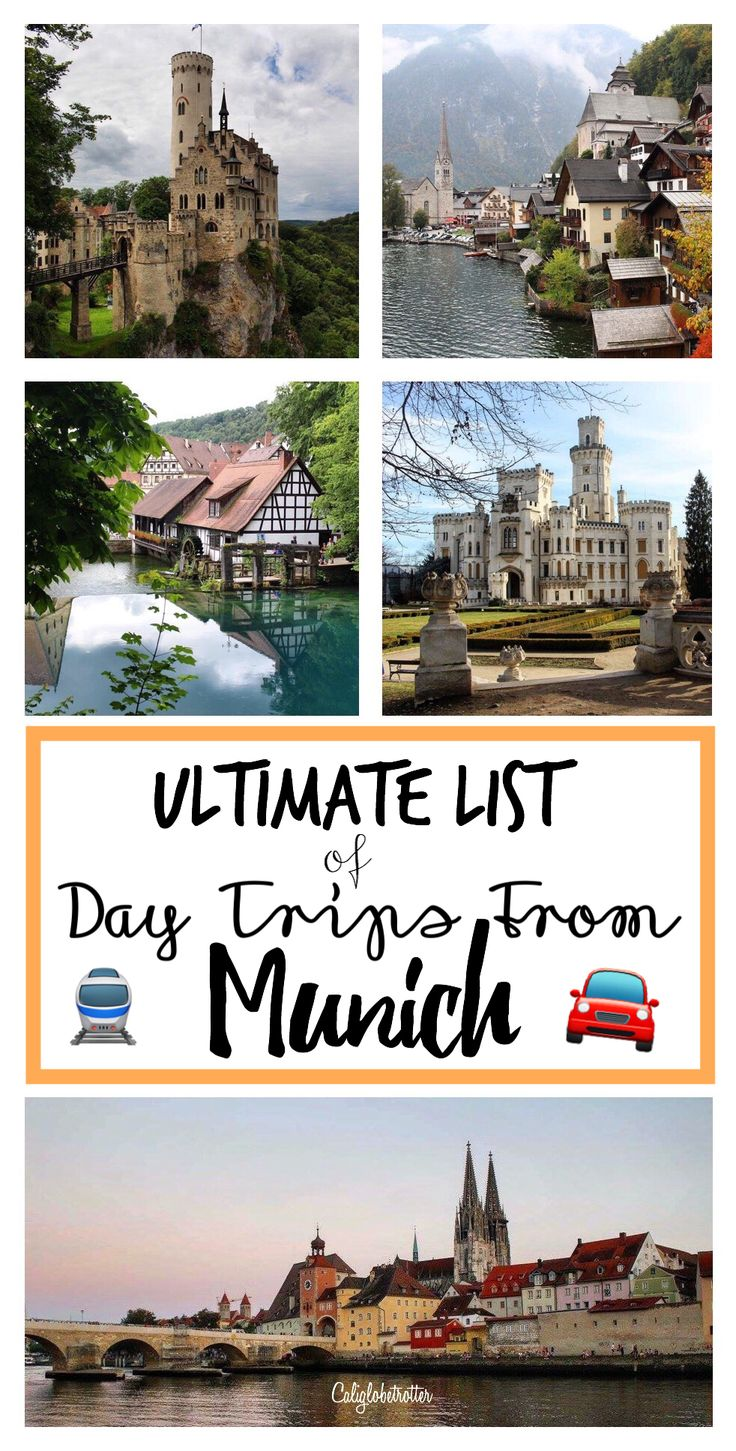 50 great places to visit for a day trip from Munich, Germany - California Globetrotter