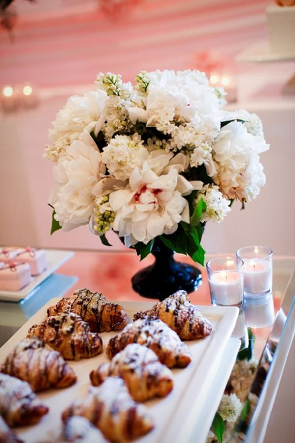 fall bridal shower menu ideas%0A Coco Chanel French Inspired Bridal Shower
