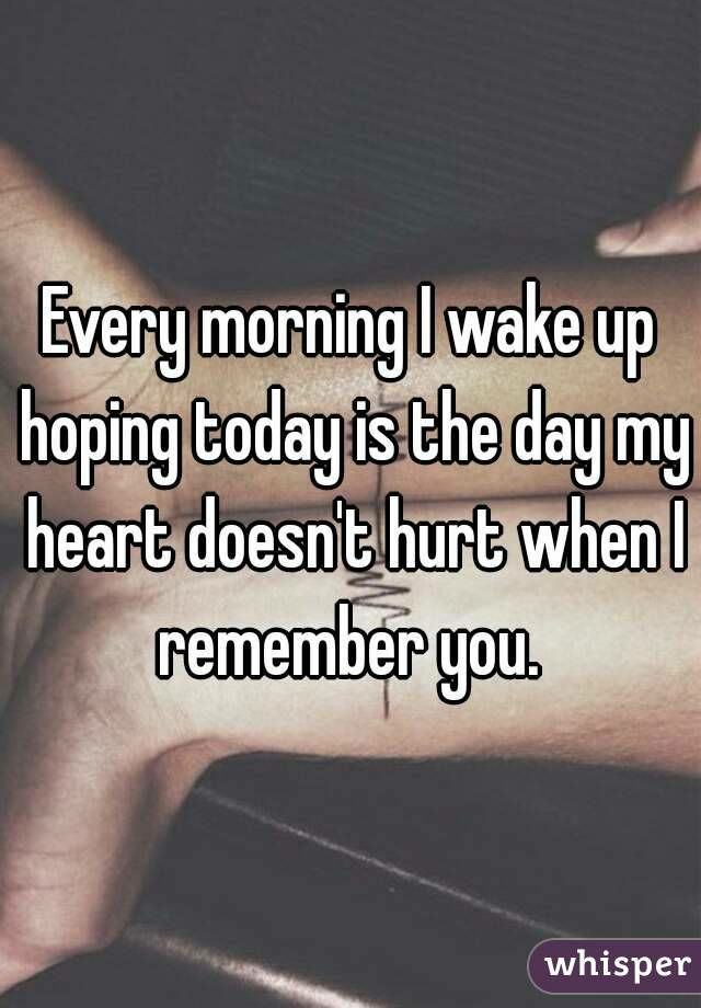 I hope it everyday but no it even gets stonger... love isn't a easy thing you just can not igonre it •G•
