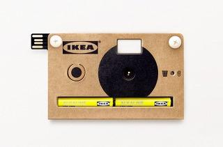 cardboard camera by IKEA.: Ikea Camera, Cardboard Digital, Ikea Cardboard, Products Design, Ikea Knäppa, Ikea Knappa, Cardboard Camera, Digital Camera, Teenage Engine