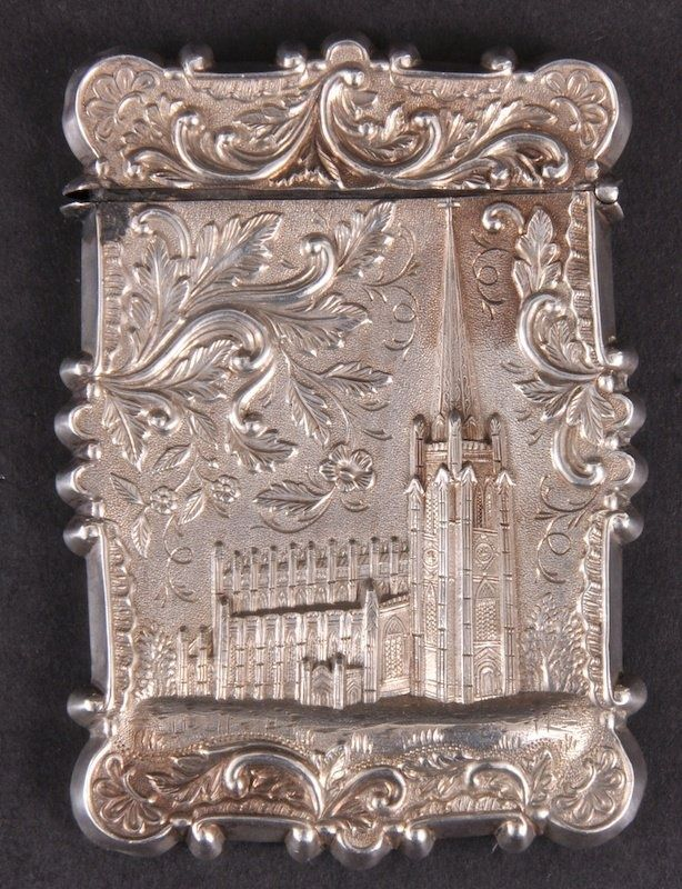 101 best Victorian Calling Card Holders images on Pinterest ...