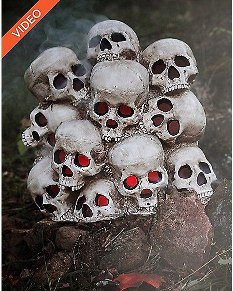 1.4 Ft Fogging Skull Pile