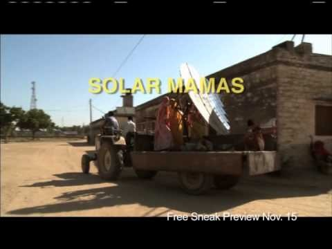 """VIDEO: Enjoy the Public Service Announcement for the next Community Cinema event at the Houston Public Library. Feature Presentation: """"Solar Mamas"""" on Thursday, November 15, 2012, at 6 PM. More info at http://www.houstonlibrary.org/community-cinema."""