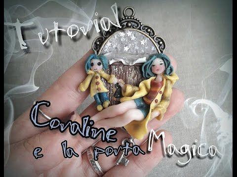 Coraline Chibi Cameo polymer clay tutorial