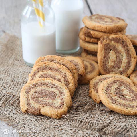 Cinnamon Swirl Cookies (low-carb, keto, paleo)