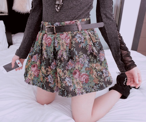 Baroque/floral Tapestry skirt