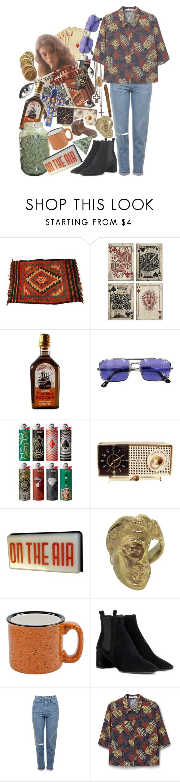 """You're Gonna Be A Star Kid"" by orange-sunshine ❤ liked on Polyvore featuring Universal Lighting and Decor, Pinaud, Yunus & Eliza, Yves Saint Laurent, Topshop and MANGO"