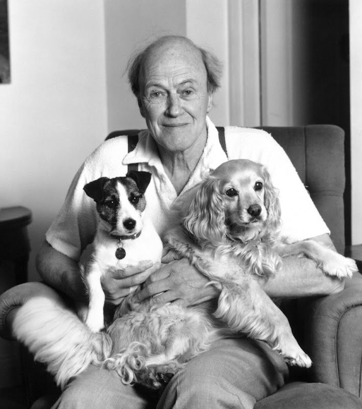 Roald Dahl, this man made my childhood awesome