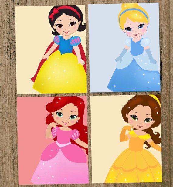 Disney Princess Nursery Prints