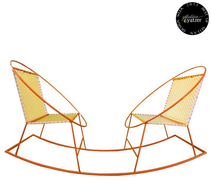 BEST OF MILAN DESIGN WEEK 2013 | Yatzer.Handmade rocking chairs by Mecedorama. (Salone Satellite). #RockingChair