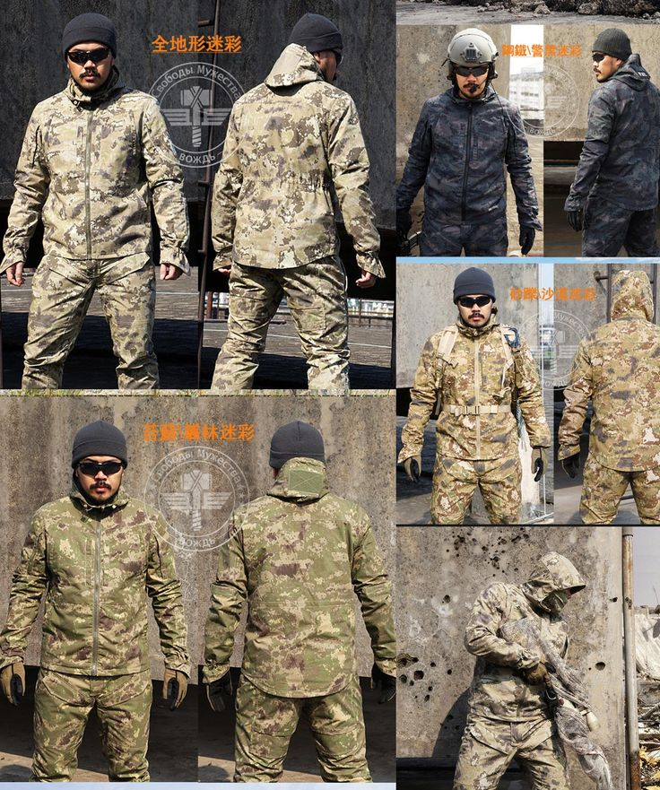 [Visit to Buy] New Army Military Uniform Tactical Suit Equipment Desert Camouflage Combat Airsoft CS Hunting Uniform Clothing Set Jacket Pants #Advertisement