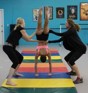 Smart spotting tips for acro class