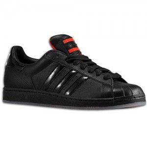store italia basket Scarpe da running Uomo Adidas Originals Superstar 2 - nero e arancione