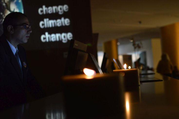 Hilton Athens Celebrates Earth Hour 2017.