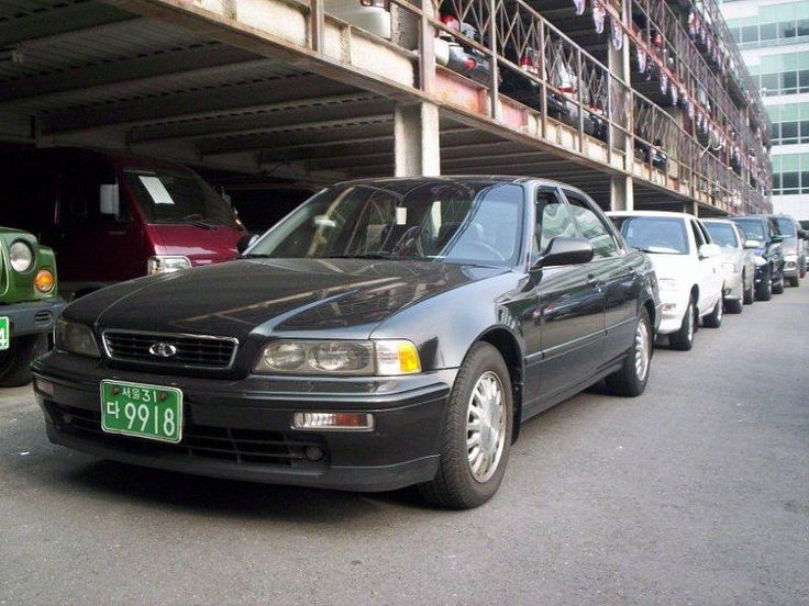 Daewoo Arcadia - Acura Legend - Korea
