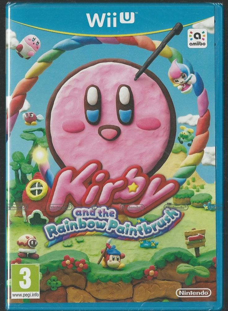 Nintendo Wii U Kirby and the Rainbow Paintbrush BRAND NEW via esteetshops video games. Click on the image to see more!