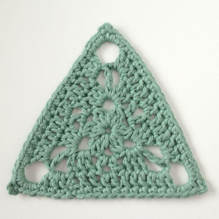 Triangular Crochet Motif