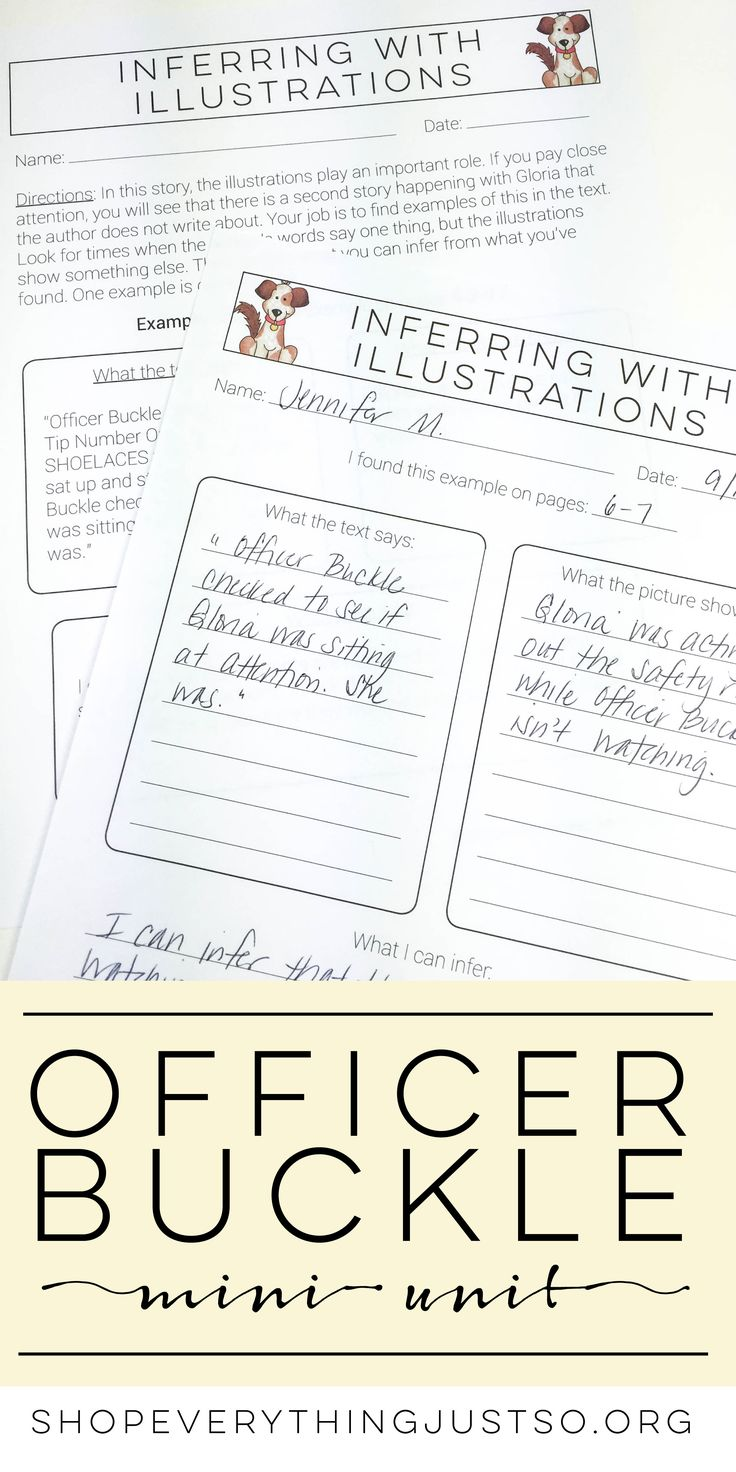 worksheet Officer Buckle And Gloria Worksheets best 25 officer buckle and gloria ideas on pinterest character mini activities unit everythingjustso org is