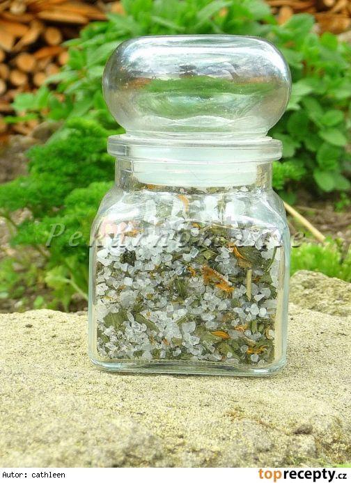 Bylinková sůl