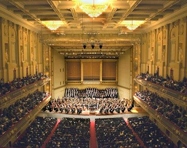 Symphony Hall!  Beautiful and acoustically great venue!