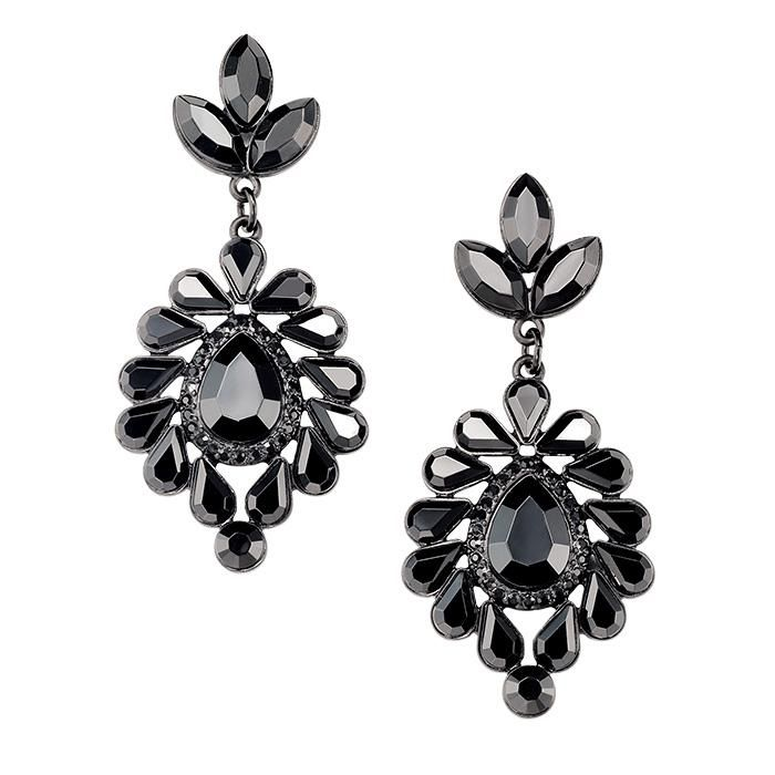 Earrings with an air of mystery! Avon's mark. Dark Side Earrings dangle long to accent your jawline with a dark color to bring edge to any outfit. Regularly $20.00, shop Avon Fashion online at http://eseagren.avonrepresentative.com