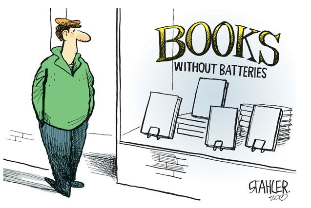 Talking to the bookselling business soon about future developments