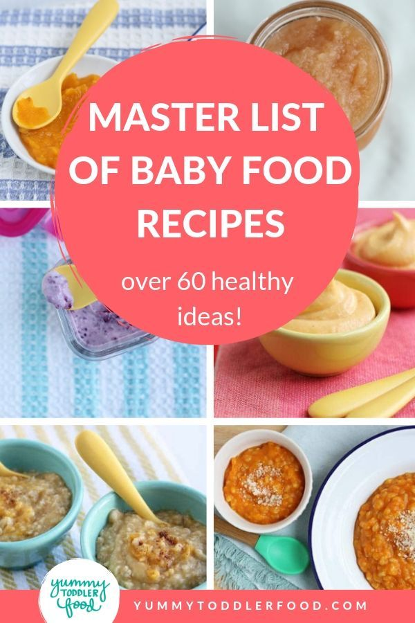 Master List Of Baby Food Recipes 60 Healthy Superfoods To Try Baby Food Recipes Healthy Baby Food Pureed Food Recipes