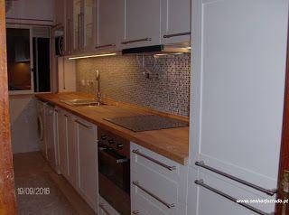 SENHOR FAZ TUDO - Faz tudo pelo seu lar !®: Montagem de uma cozinha Ikea na Amadora