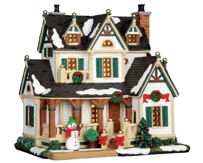 131 best christmas village images on Pinterest | Christmas ...