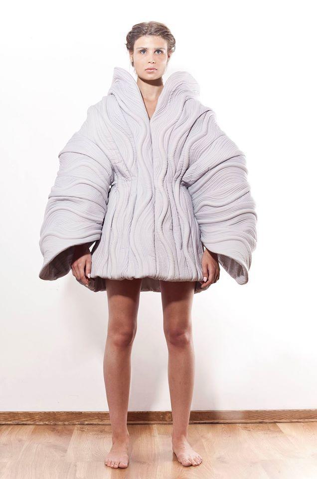 Paulina Bierzgalska   2014 #fashion #experimental #dress #fashiondesign #fashiondesignschool #aspwarszawa #academyoffinearts #katedramody #fashiondepartment #fashiondesign #warsaw