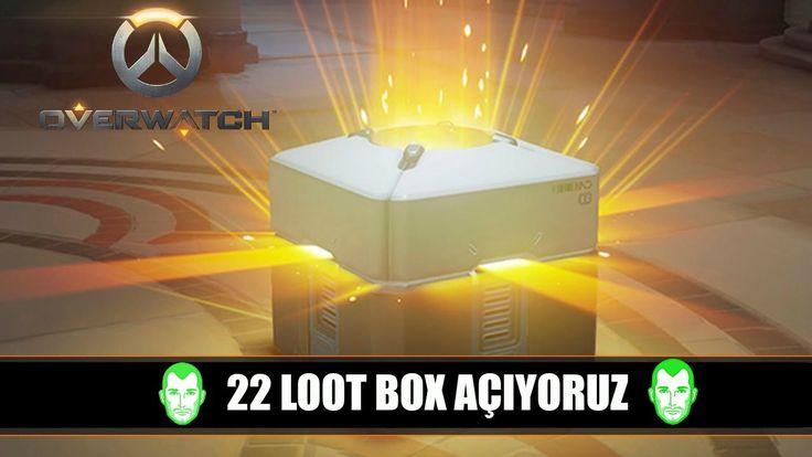 Overwatch Loot Box Açıyoruz   Overwatch  Loot Box Opening