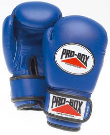 Pro-Box Blue Collection Sparring Gloves Ultra-safe PU Artificial Leather Sparring Gloves with moulded foam safety filling and velcro wrist. http://www.MightGet.com/january-2017-11/pro-box-blue-collection-sparring-gloves.asp