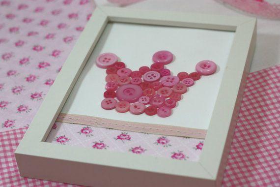Girl Nursery decoration/Nursery wall by CottonLullabyShop on Etsy