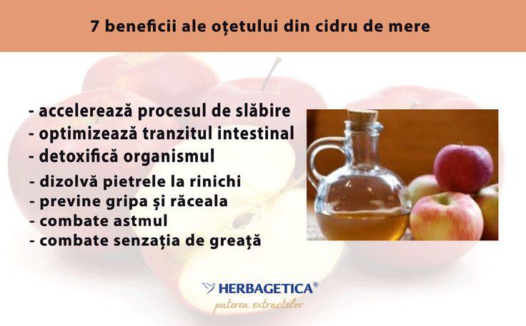 Oțetul din cidru de mere și ale sale beneficii