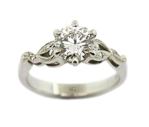Filigree and milgrain details to accentuate a brilliant diamond 😍 #thevillagegoldsmith #engagementring #diamondring #ring #diamonds #theone #perfect #details #vintage #classic #elegant #diamond #beautiful #jewellery #jeweller #engaged #love #design...