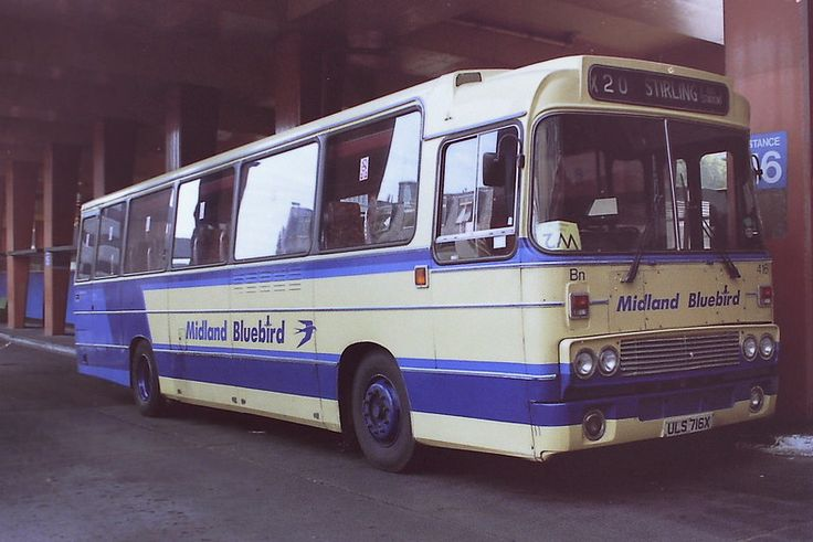 https://flic.kr/p/qMB7Vs | 416 Midland Bluebird ULS716X Leyland Leopard PSU3G.4R Alexander AT. St Andrews Bus Station Edinburgh 23.9.93