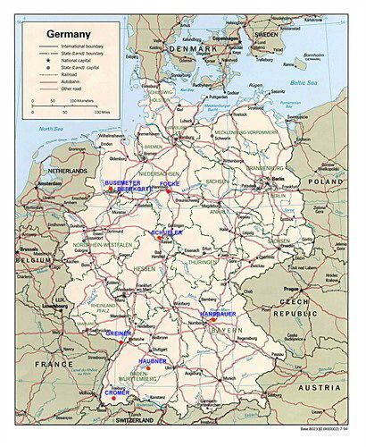 Best Historical Maps Germany Chicago IL Images On Pinterest - Germany map view