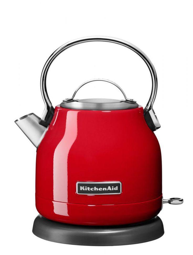 KitchenAid Wasserkocher in empire rot, 1,25 L - KochForm