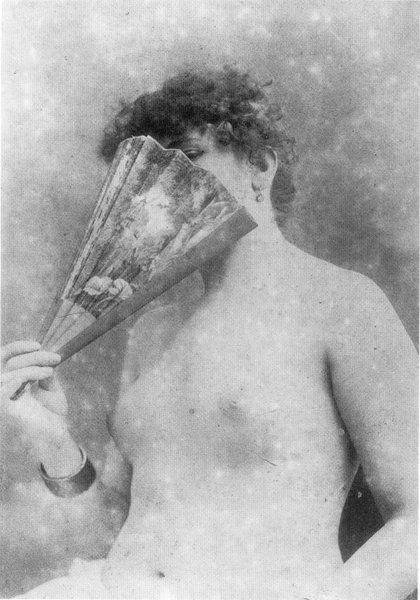Nude Sarah Bernhardt, c. 1870's