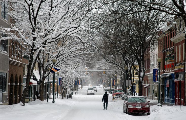 I used to walk down this street when going to school. They would cancel school if the snow was this high.
