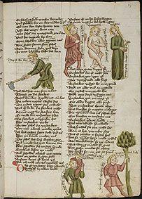 Universitätsbibliothek Heidelberg, Cod. Pal. germ. 330 Thomasin von Zerklaere Der welsche Gast Nordbayern (Eichstätt?), um 1420