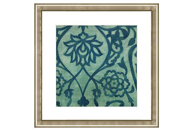 Lotus Pattern Print II on OneKingsLane.com