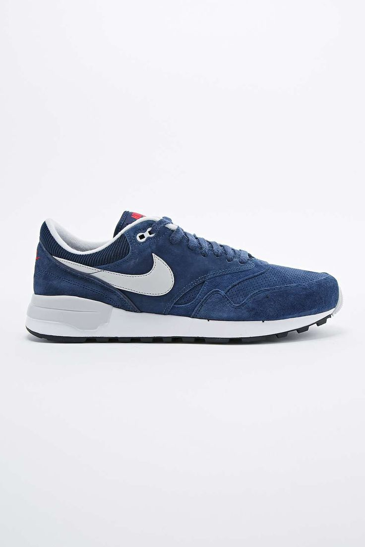 Nike Air Odyssey Suede Trainers in Midnight Navy