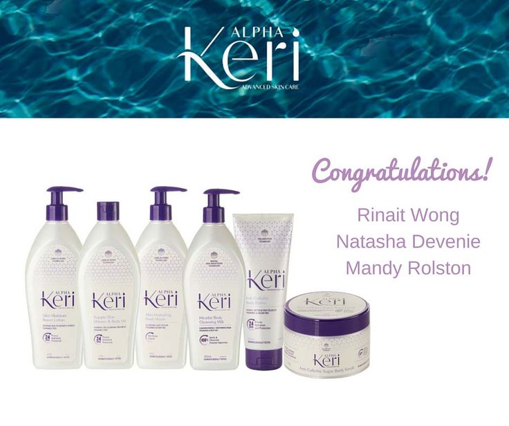 Congratulations to the winners of Alpha Keri Skin Care Prize in our 'Mother's Day Giveaway' contest! Thanks to everyone who participated and helped make this contest a success! Stay tuned for our next contest coming very soon!