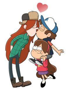Mabel/Wendy/Dipper.Love<3