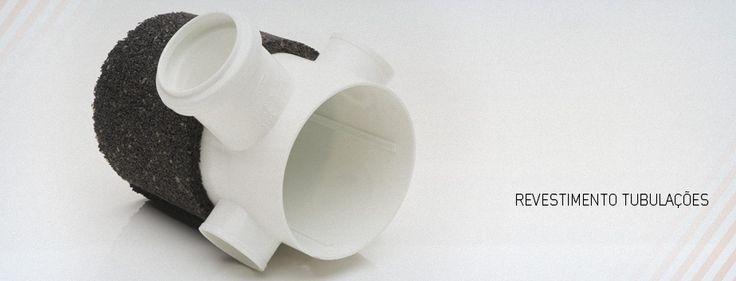 Sais Tubulação   Isolamento Acústico de Pele de Vidro   Caça Ruidos