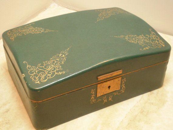 Farrington Jewelry Box 104 Best Wonderful Old Jewelry Boxes Images On Pinterest  Jewel Box